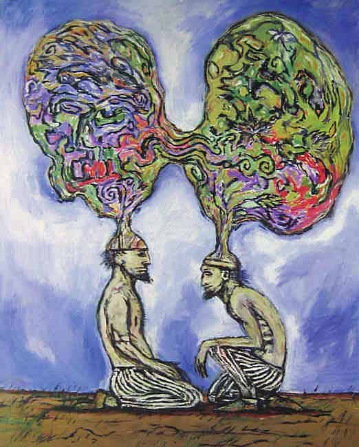 Clive Barker - Two Shamans Sharing Thoughts