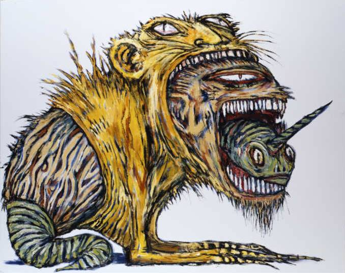 Clive Barker - Three Beasts Devouring Each Other