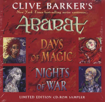 Abarat 2 promotional CD ROM sampler