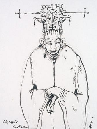 One of Clive's early Abarat sketches
