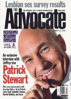 The Advocate, Issue 687/688, 22 August 1995