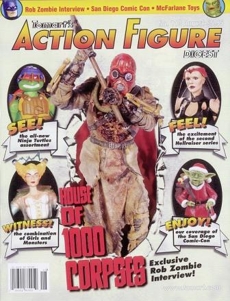 Action Figure Digest - No 113, August 2003