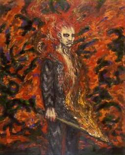Clive Barker - The Arsonist
