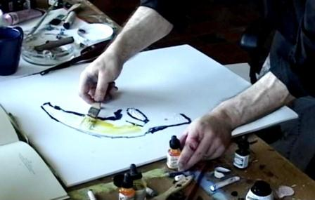 Clive Barker - In The Illustration Room - May 2007
