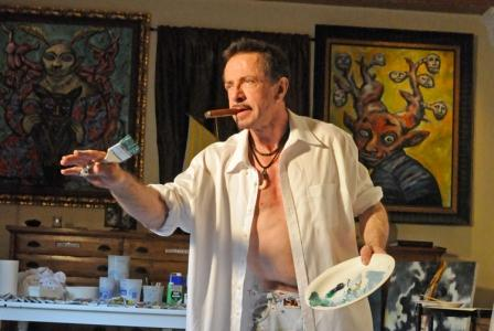 Clive Barker - The Art Room - June 2010