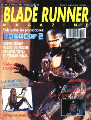 Blade Runner, Vol 1No 1, November 1990