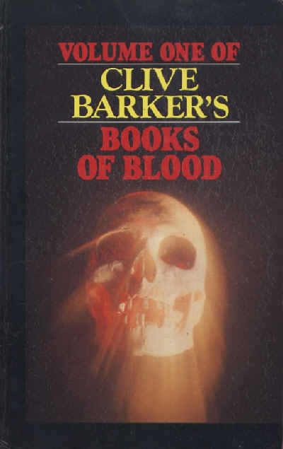 Clive Barker - Books Of Blood 1, Curley Publishing, 1990