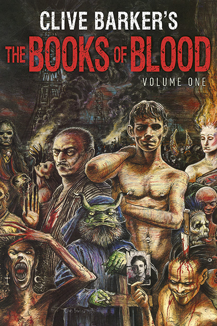 Clive Barker - Books Of Blood 1, Subterranean, 2014