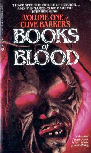 Clive Barker - Books Of Blood 1, Berkley, 1986