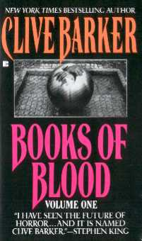 Clive Barker - Books Of Blood 1, Berkley, [1991]