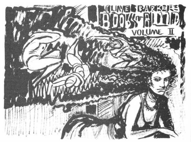 Clive Barker - Book Of Blood II cover rough