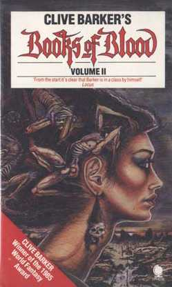 Clive Barker - Books Of Blood 2, Sphere, [1987]