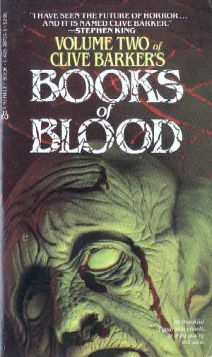Clive Barker - Books Of Blood 2, Berkley, 1986