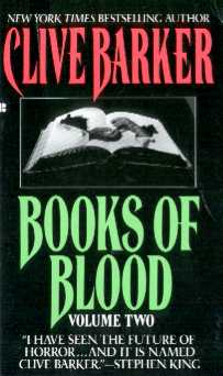 Clive Barker - Books Of Blood 2, Berkley, [1991]