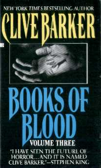 Clive Barker - Books Of Blood 3, Berkley, [1991]