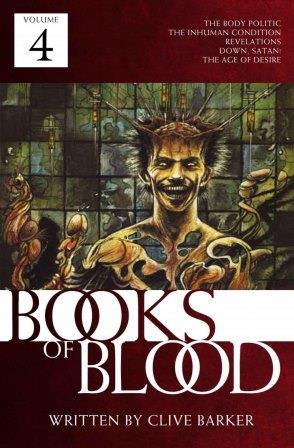 Clive Barker - Books of Blood 4, Kindle edition