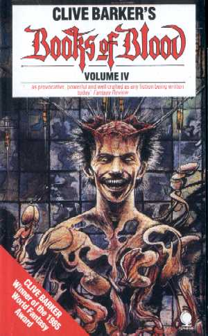 Clive Barker - Books Of Blood 4, Sphere, [1987]