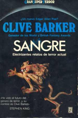 Clive Barker - Books of Blood - Mexico, 1988