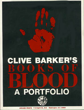Clive Barker - Books of Blood Portfolio