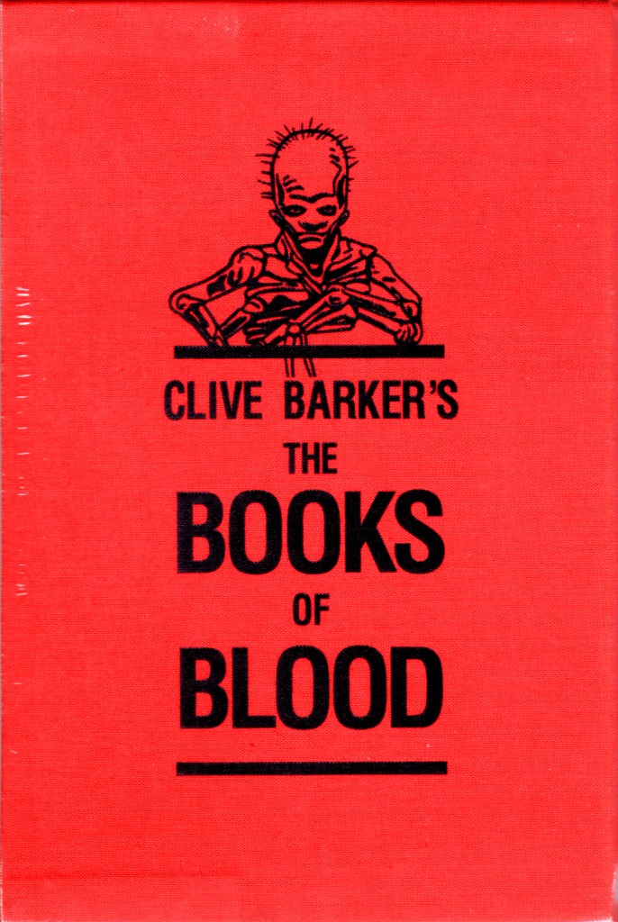 Clive Barker - Books Of Blood slipcase design, Subterranean, 2014