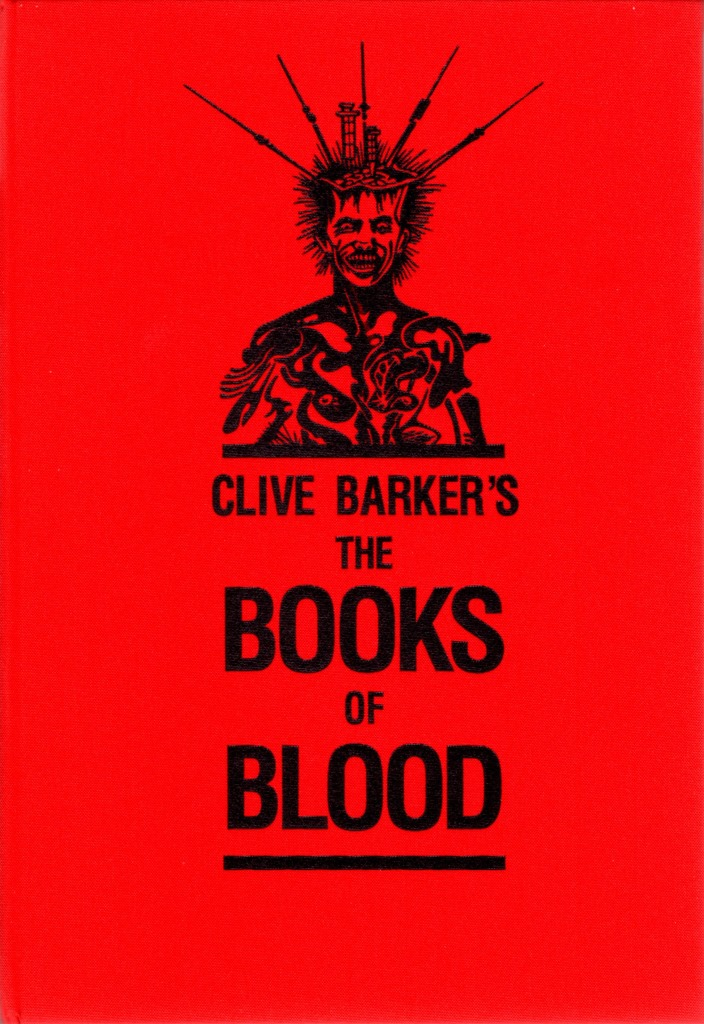 Clive Barker - Books Of Blood traycase design, Subterranean, 2014