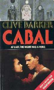 Clive Barker - Cabal - Fontana, Nightbreed tie-in