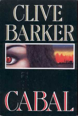 Clive Barker - Cabal - US Book Club edition