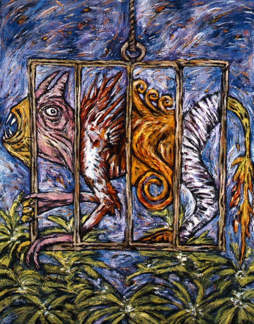 Clive Barker - Cage With Many Creatures