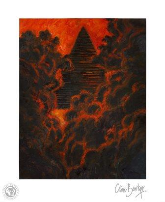 Clive Barker - Fourth Power print
