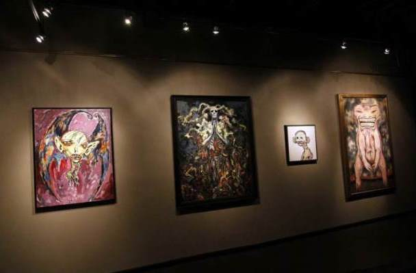 Clive Barker at the Century Guild Gallery, Los Angeles