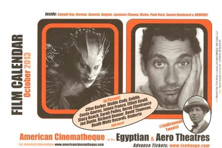 American Cinematheque, October 2013