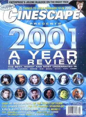 Cinescape, Issue 56, January 2002