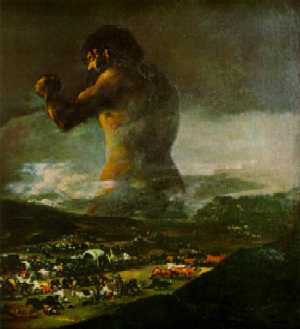 Goya - Colossus / Panic - Inspiration for In The Hills, The Cities