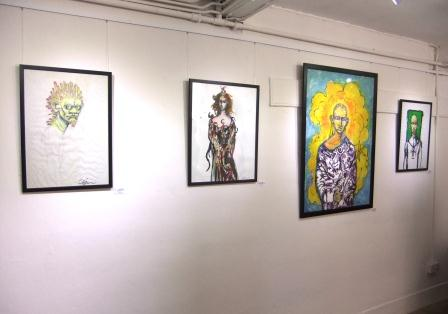 Clive Barker at Crown Gallery