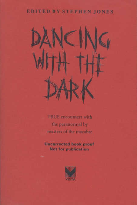 Dancing With The Dark - Vista paperback proof 1997