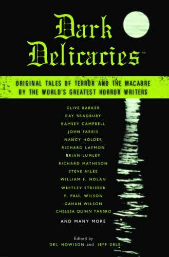 Haeckel's Tale - in Dark Delicacies (publication due September 2005)