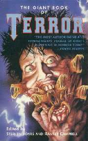 Giant Book Of Terror - paperback edition