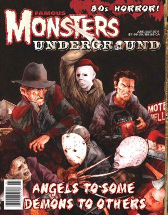 Famous Monsters Underground - No 1, June/July 2011