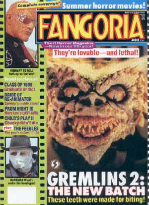 Fangoria, No 93, June 1990