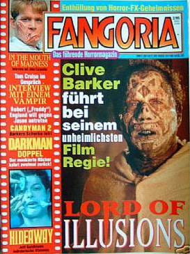 Fangoria, German No 2, 1995