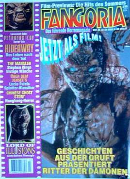 Fangoria, German No 3, 1995