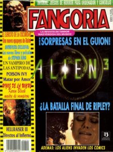 Fangoria, Spanish edition, No 10, July 1992