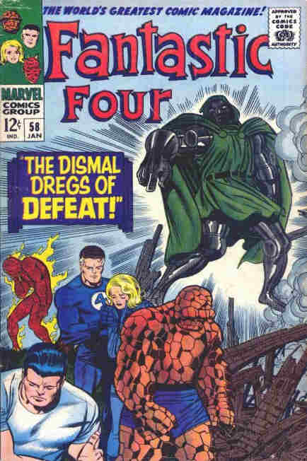 Fantastic Four - No 58, January 1967