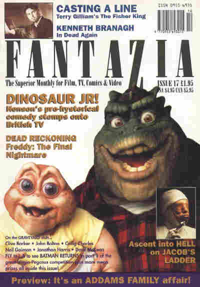 Fantazia, Issue 17, [winter] 1991