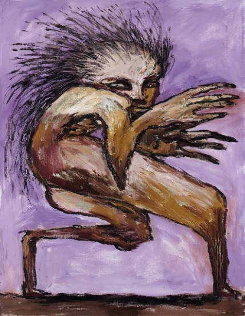 Clive Barker - Figure With Quills