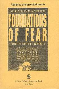 Foundations of Fear - proof, TOR, 1992