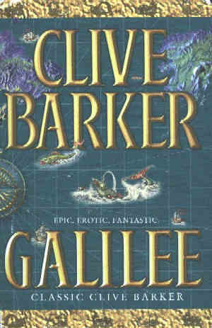 Clive Barker - Galilee - UK Book Club edition