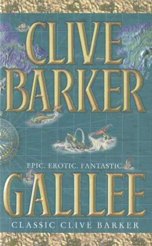 Clive Barker - Galilee - UK paperback edition