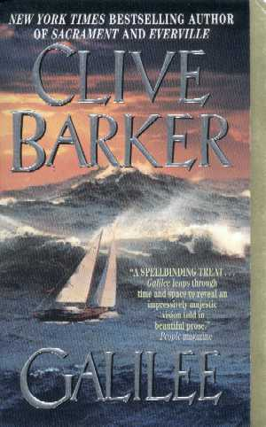 Clive Barker - Galilee - US paperback edition