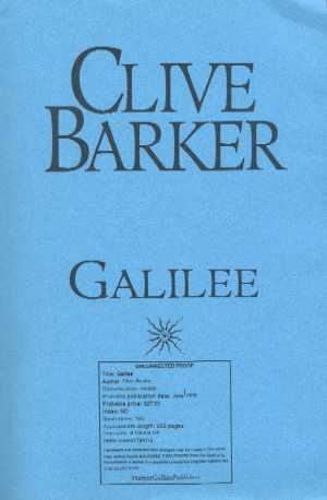 Clive Barker - Galilee - US Proof